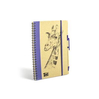 Giraffe Note Book