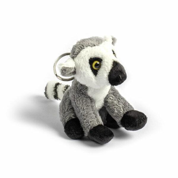 Plush Keyring Ringtailed Lemur
