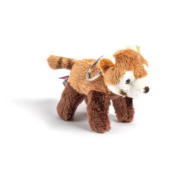 Red Panda Plush Keyring