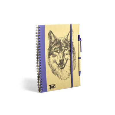 Wolf Logo Notebook