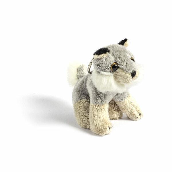 Wolf Plush Keyring